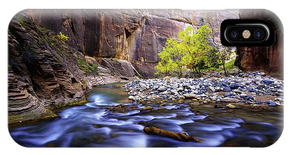 Creek iPhone Case - Dynamic Zion by Chad Dutson