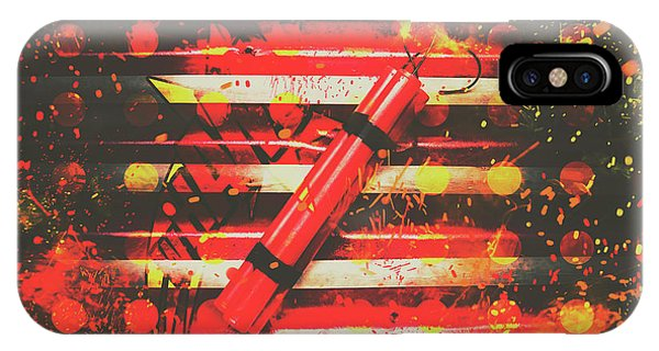 Dynamite Artwork IPhone Case