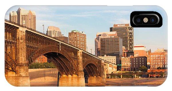 Eads Bridge At St Louis IPhone Case