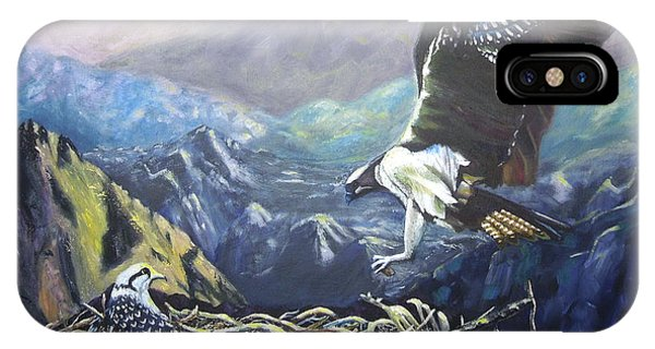 Eagle At Home IPhone Case
