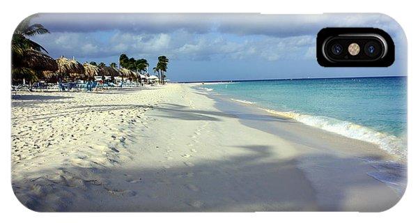 Eagle Beach Aruba IPhone Case