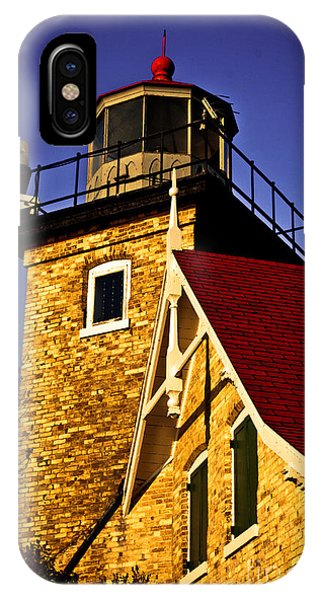 Eagle Bluff Lighthouse Of Door County IPhone Case