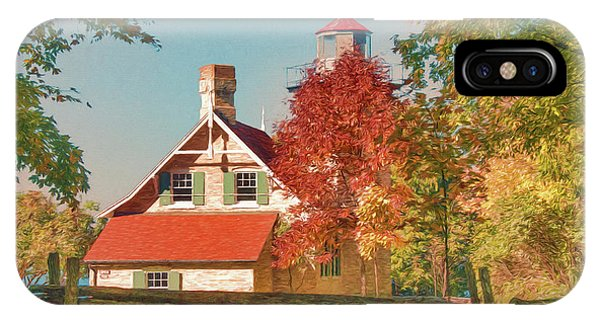 Eagle Bluff Lighthouse_1 IPhone Case