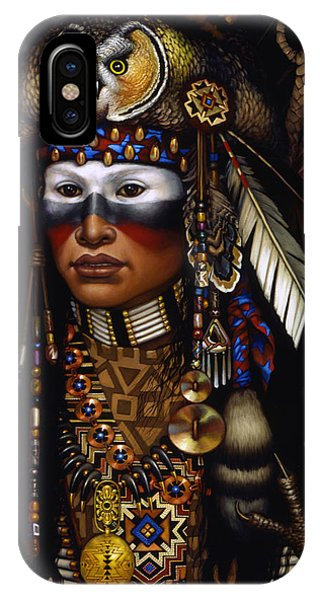 Native iPhone Case - Eagle Claw by Jane Whiting Chrzanoska