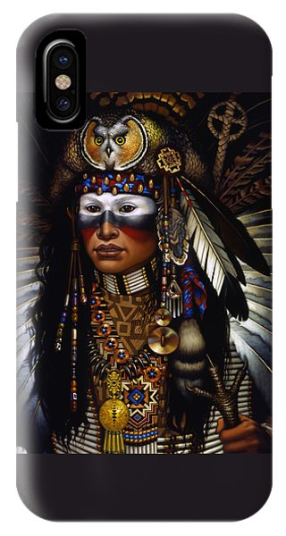 Tribal iPhone Case - Eagle Claw by Jane Whiting Chrzanoska