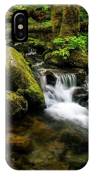 Eagle Creek Cascade IPhone Case