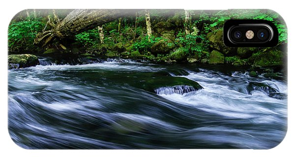 Eagle Creek Rapids IPhone Case