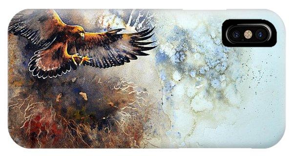 iPhone Case - Eagle Descending by Paul Dene Marlor