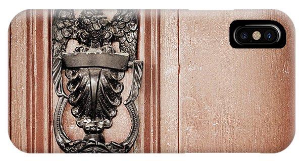 Timeworn iPhone Case - Eagle Door Knocker by Joseph Skompski