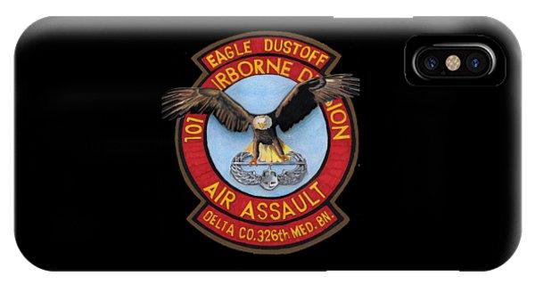 Eagle Dustoff IPhone Case