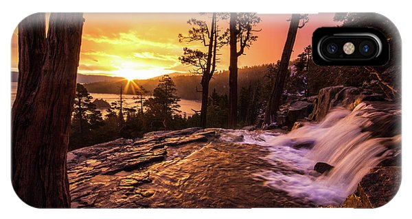 Eagle Falls Sunrise IPhone Case