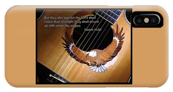 Eagle Guitar IPhone Case