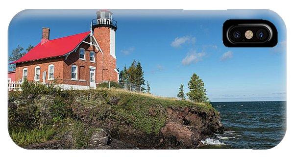 Eagle Harbor Lighthouse IPhone Case