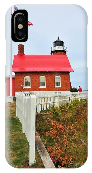 Eagle Harbor Lighthouse IPhone Case