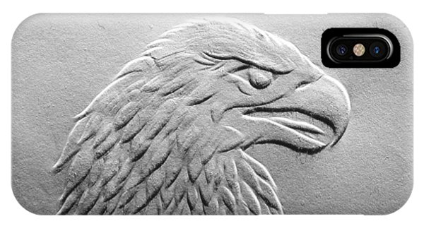 Eagle Head Relief Drawing IPhone Case