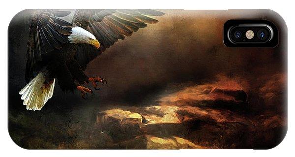 Eagle Is Landing IPhone Case