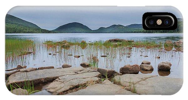 Eagle Lake Acadia National Park IPhone Case