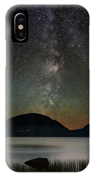 Eagle Lake And The Milky Way IPhone Case