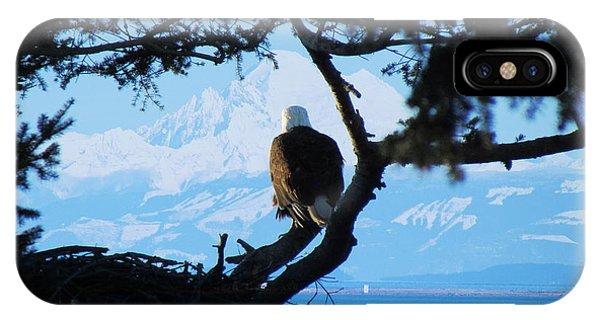 Eagle - Mt Baker - Eagles Nest IPhone Case
