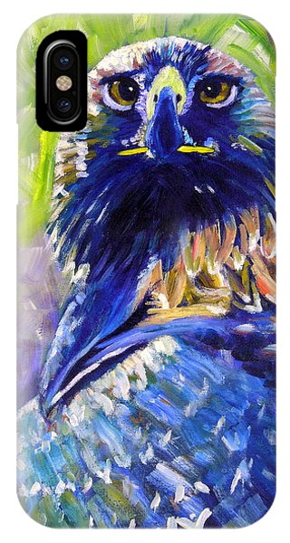 Eagle On Alert IPhone Case