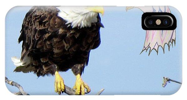 Eagle Reflection IPhone Case