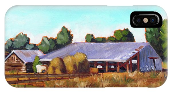 Eagle Road Barn IPhone Case