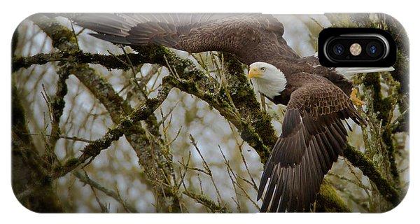 Eagle Take Off IPhone Case