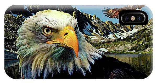 Avian iPhone Case - Eagles Lake by Russ Harris