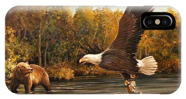 Eagle's Prey IPhone Case