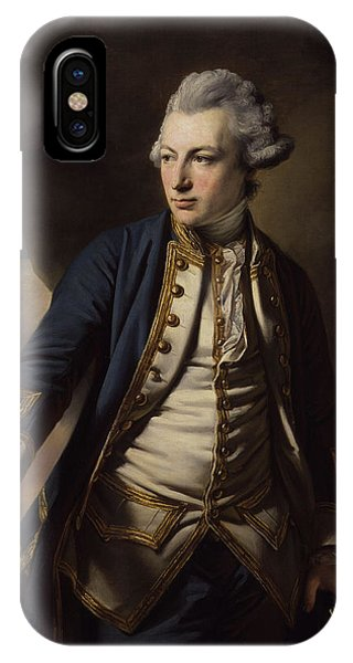 Jervis iPhone Case - Earl Of St Vincent by MotionAge Designs