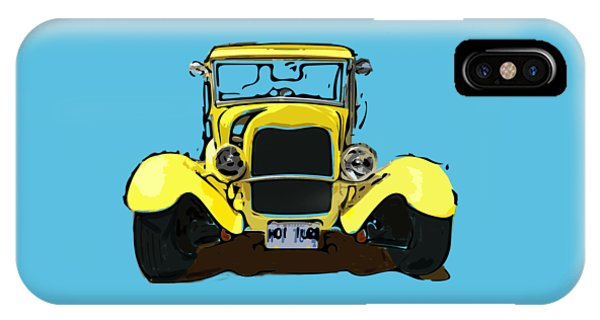 Early 1930s Ford Yellow IPhone Case
