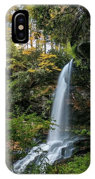 Early Autumn At Dry Falls IPhone Case