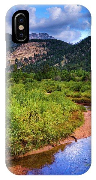 IPhone Case featuring the photograph Early Autumn In Colorado by John De Bord