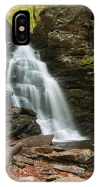 Early Autumn Morning Below Ozone Falls IPhone Case