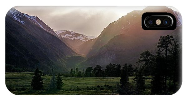 Early Evening Light In The Valley IPhone Case