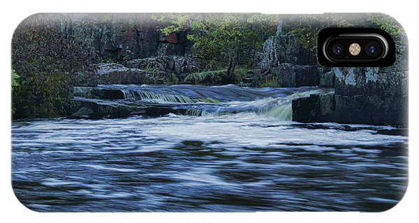 Early Fall At Eau Claire Dells Park IPhone Case