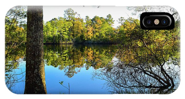 Early Fall Reflections IPhone Case