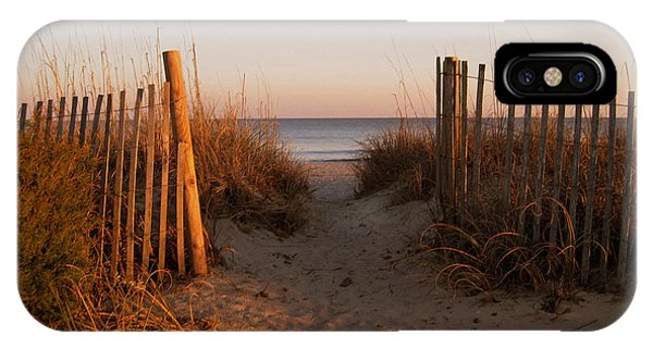Early Morning At Myrtle Beach Sc IPhone Case