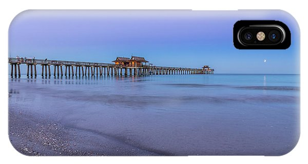 Early Morning At Naples Pier IPhone Case