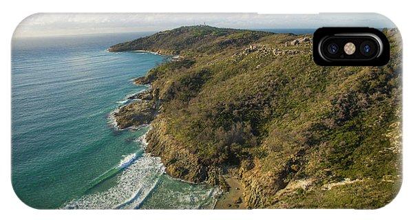 Early Morning Coastal Views On Moreton Island IPhone Case