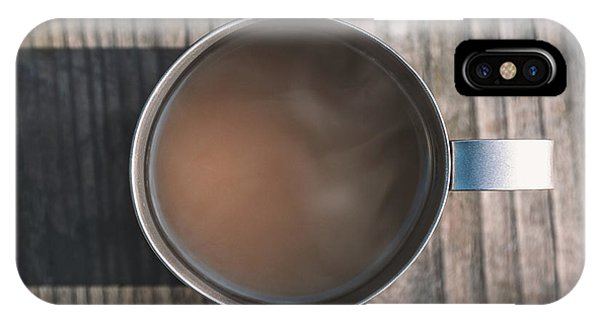 Cream iPhone Case - Early Morning Coffee  by Scott Norris