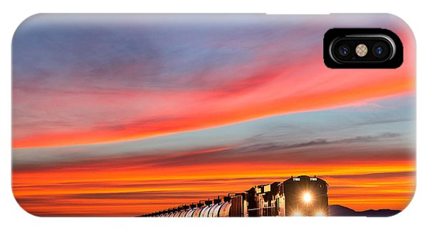 Train iPhone Case - Early Morning Haul by Todd Klassy