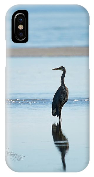 Early Morning Heron IPhone Case