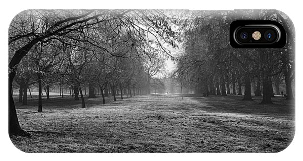 Early Morning In Hyde Park 16x20 IPhone Case