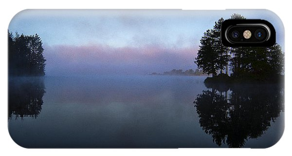 Early Morning Lake Nimisila IPhone Case