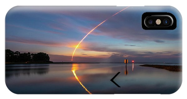 Early Morning Launch IPhone Case