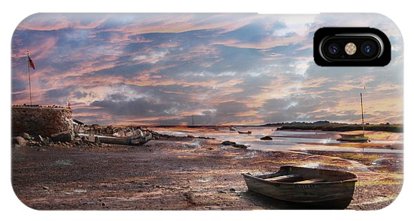 Early Morning Low Tide On The North Shore IPhone Case