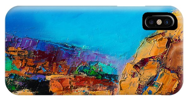 Early Morning Over The Canyon IPhone Case