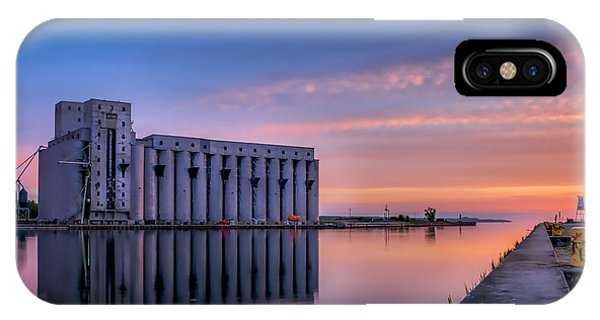 Early Morning Sentinels II IPhone Case
