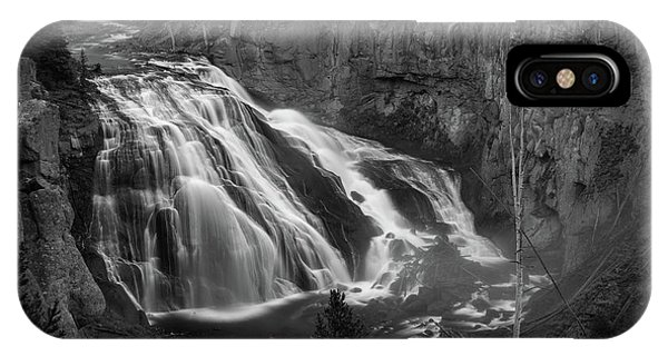 Early Morning Steam Falls IPhone Case
